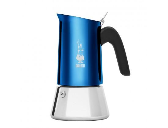 Гейзерная кофеварка Bialetti New Venus Blue на 4 порции 7274