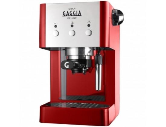 Рожковая кофеварка Gaggia Gran DeLuxe Red