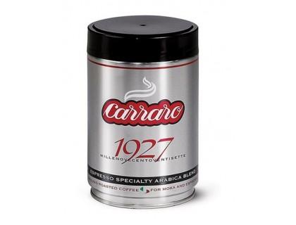 Кофе молотый Carraro 1927 0,25 кг. ж/б