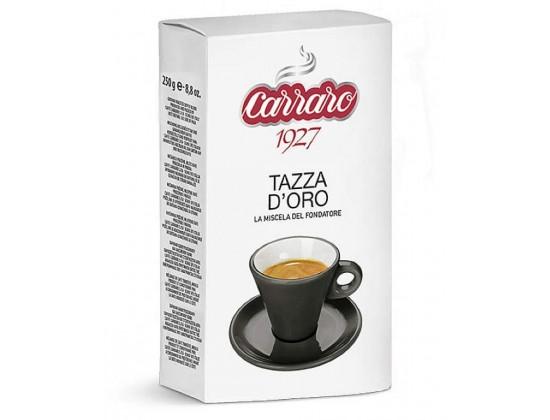 Кофе молотый Carraro Tazza d'Oro 0,25 кг