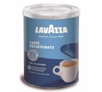 Кофе молотый Lavazza Caffe Decaffeinato 0,25 кг. ж/б