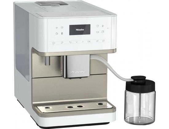 Автоматическая кофемашина Miele CM 6360 (White/Metallic)