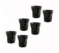 Набор чашек Bialetti Set Bicchierini Nero