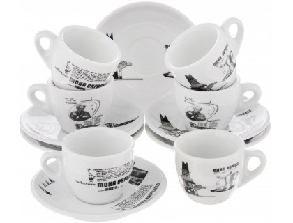 Набор чашек Bialetti Set Carosello