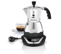 Гейзерная кофеварка Bialetti Moka Timer на 3 порции 6092
