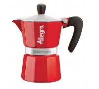 Гейзерная кофеварка Bialetti Allegra RED 6017