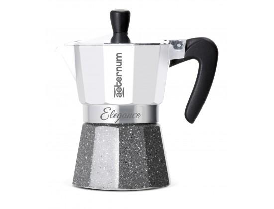 Гейзерная кофеварка Aeternum Elegance Bianca на 6 порций 6035