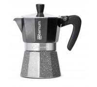 Гейзерная кофеварка Bialetti Elegance Nera 6008
