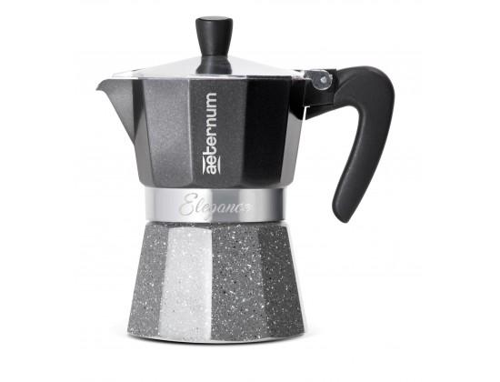 Гейзерная кофеварка Aeternum Elegance Nera на 3 порции 6007