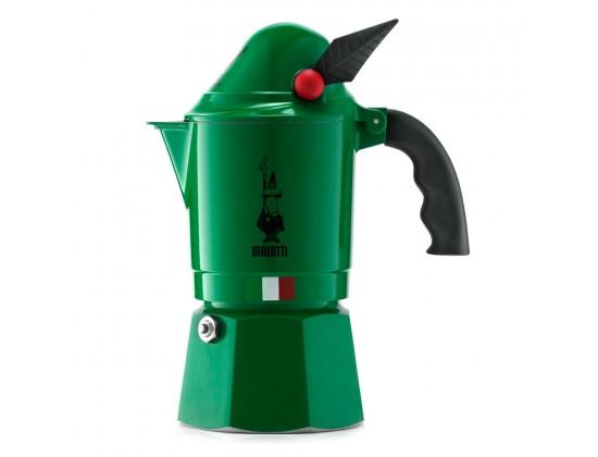 Гейзерная кофеварка Bialetti Alpina на 3 порции 2762