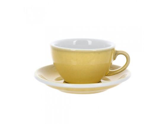 Кофейная пара Loveramics Egg 200 мл, сливочно-желтая