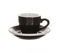Кофейная пара Loveramics Egg 80 мл, черная