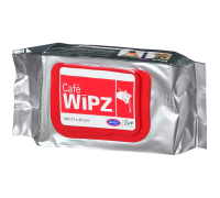 Салфетки Urnex Wipz для ухода за кофейным оборудованием 100 шт.
