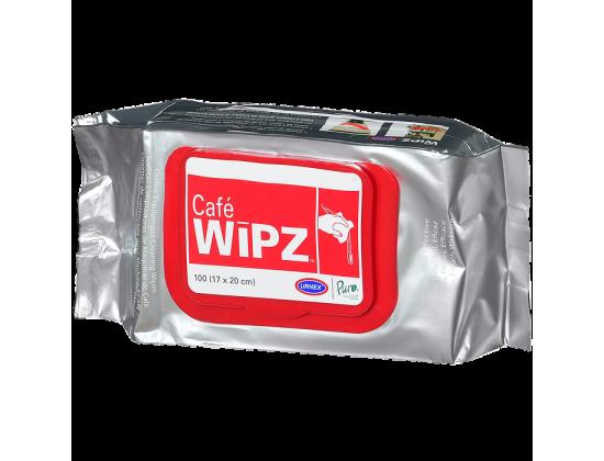 Салфетки Urnex Wipz для ухода за кофейным оборудованием