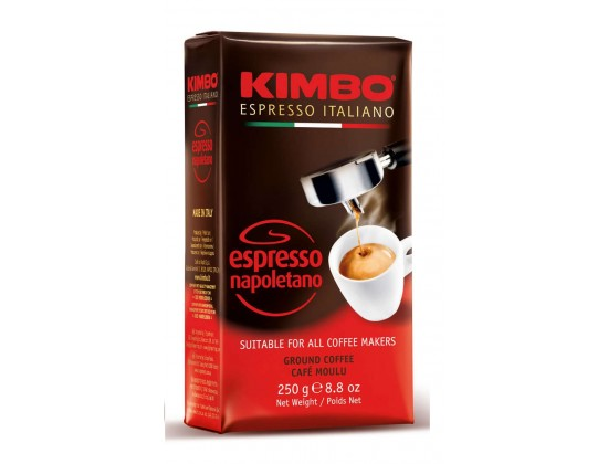 Кофе молотый Kimbo Espresso Napoletano 0,25 кг
