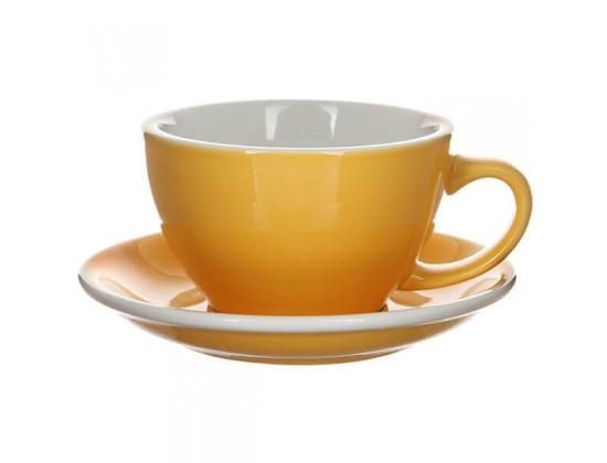 Кофейная пара Loveramics Egg 300 мл, желтая