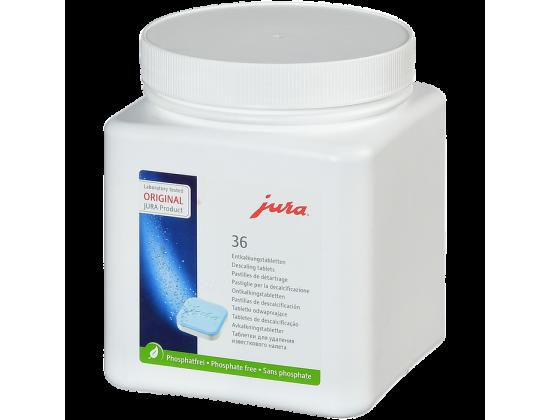 Таблетки Jura для удаления накипи