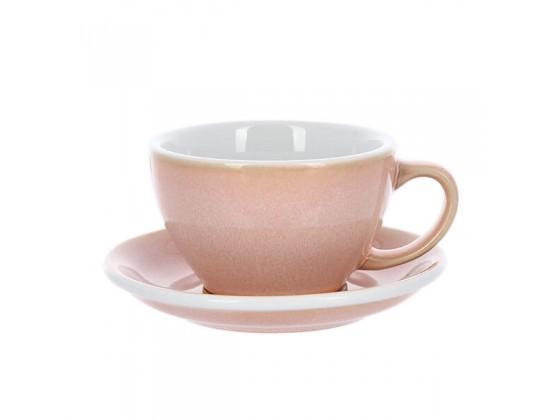 Кофейная пара Loveramics Egg 300 мл, розовая