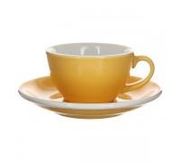 Кофейная пара Loveramics Egg 200 мл, желтая