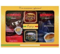 Набор кофе Kimbo 2 x 250г + чай Estate 2 x 45г