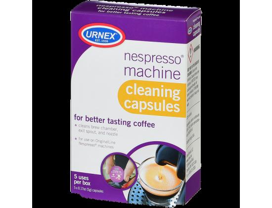 Капсулы Nespresso Urnex от кофейных масел