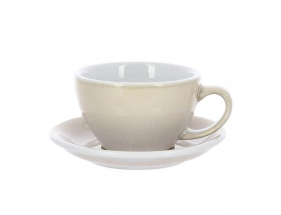 Кофейная пара Loveramics Egg 300 мл, бежевая