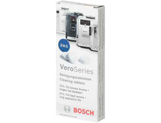 Таблетки Bosch для удаления кофейных масел