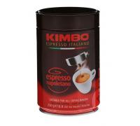 Кофе молотый Kimbo Espresso Napoletano 0,25 кг. ж/б