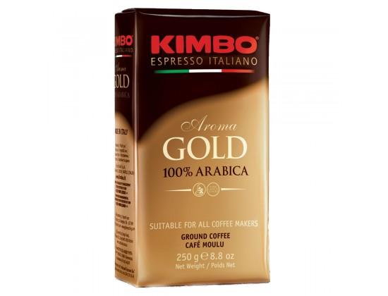 Кофе молотый Kimbo Aroma Gold 0,25 кг