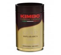 Кофе молотый Kimbo Aroma Gold 0,25 кг. ж/б