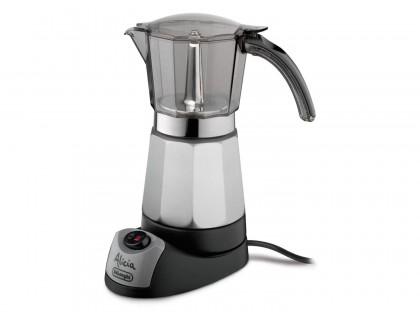 Гейзерная кофеварка электрическая Delonghi Alicia EMK-9 на 9 порций