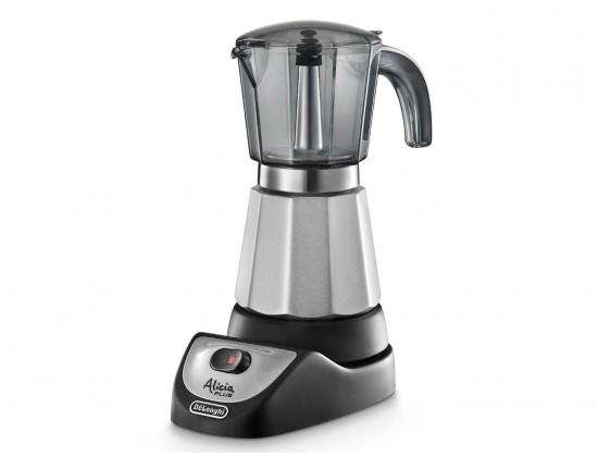 Гейзерная кофеварка электрическая Delonghi Alicia EMKM-6 на 6 порций