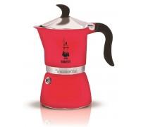Гейзерная кофеварка Bialetti Fiametta Strawberry на 3 порции 5342