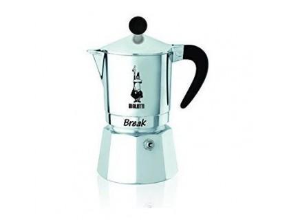 Гейзерная кофеварка Bialetti Break Black на 3 порции 5923