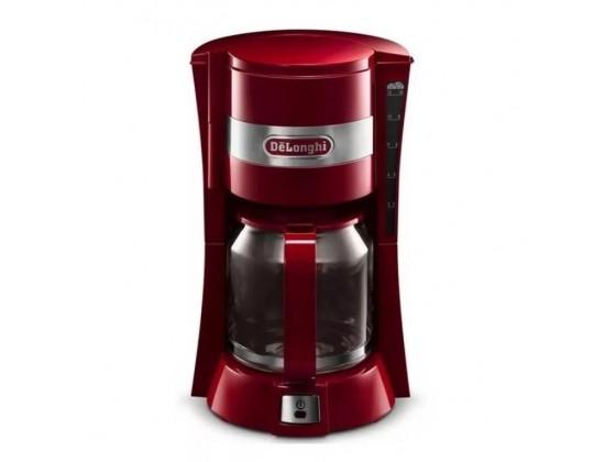Капельная кофеварка Delonghi ICM 15210.R (Red)