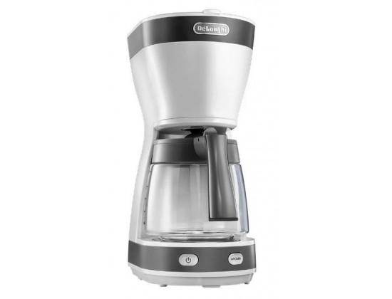 Капельная кофеварка Delonghi ICM 16210.WS (White)