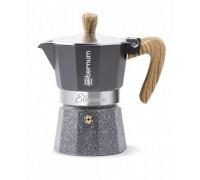 Гейзерная кофеварка Aeternum Allegra Wood на 3 порции 5507
