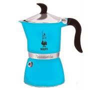 Гейзерная кофеварка Bialetti Fiametta Light Blue 4632