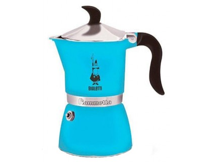 Гейзерная кофеварка Bialetti Fiametta Light Blue на 3 порции 4632