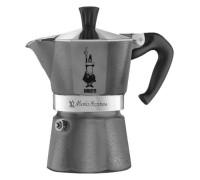 Гейзерная кофеварка Bialetti Moka Express Diamond Grey на 6 порций 5313