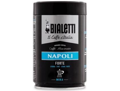 Кофе молотый Bialetti Moka Napoli 0,25 кг. ж/б