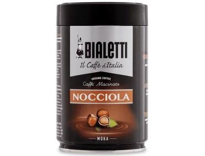 Кофе молотый Bialetti Moka Nocciola 0,25 кг. ж/б