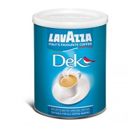 Кофе молотый Lavazza Caffè Dek 0,25 кг. ж/б