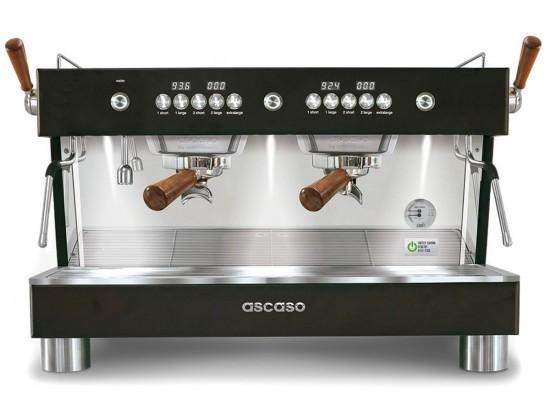 Профессиональная кофемашина Ascaso Barista T Plus 2GR Black & Wood