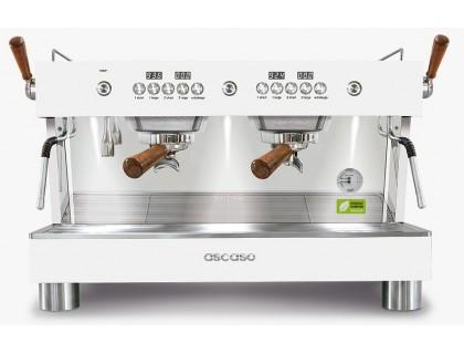 Профессиональная кофемашина Ascaso Barista T Plus 2G White & Wood