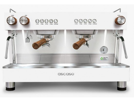Профессиональная кофемашина Ascaso Barista T Zero 2G White&Wood