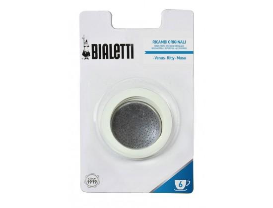 Набор запчастей для кофеварок Bialetti из стали на 6 порций