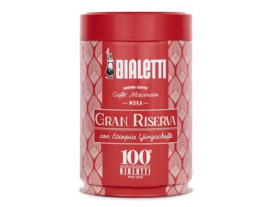 Кофе молотый Bialetti Moka Gran Riserva Centenario 0,25 кг. ж/б