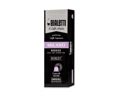 """Капсулы Bialetti """"Milano"""" 10 шт. для nespresso"""