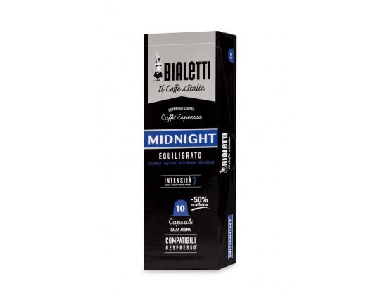 """Капсулы Bialetti """"Midnight"""" 10 шт. для nespresso"""